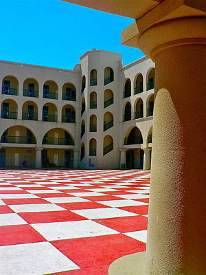 Photograph - Quad At The Citadel by Jean Wright