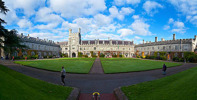 County Cork Photograph - Quadrangle At An University, University by Panoramic Images
