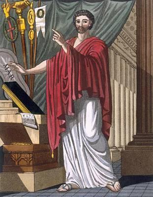Quaestor, Illustration From Lantique Print by Jacques Grasset de Saint-Sauveur