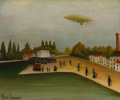 Painting - Quai D'ivry by Henri Rousseau
