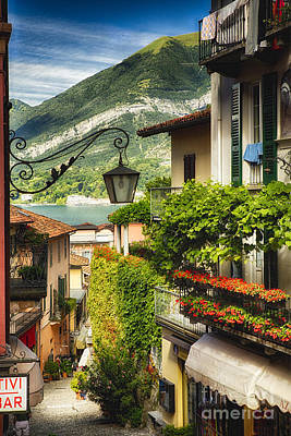 Quaint Bellagio Street View Art Print
