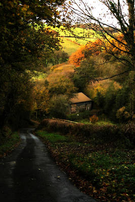 Photograph - Quaint English Farmhouse by Sarah Broadmeadow-Thomas