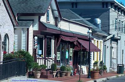 Photograph - Quaint Town by Nance Larson