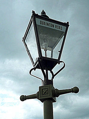Amy Weiss - Quainton Road Lamp Light 3 by Gordon James