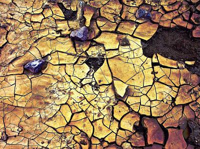 Art Print featuring the sculpture Quaken Earth by Dan Redmon