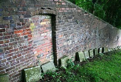 Coalbrookdale Photograph - Quaker Cemetery  by Teresa Lambert
