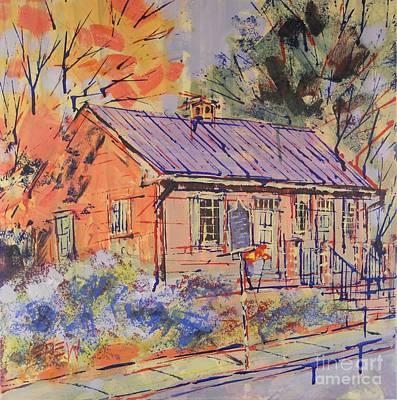 Philadelphia Pa Painting - Quaker by Larry Lerew