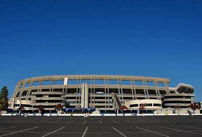 Qualcomm Stadium Art Print