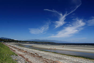 Photograph - Qualicum Beach by Randy Hall