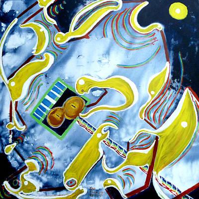 Quantum Absurdity Art Print by Vija Francis-Celmins