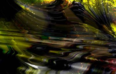 Digital Art - Quantum Event At Hydra Nebula by Richard Thomas