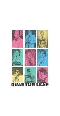 Adventure Time Digital Art - Quantum Leap - Faces Of Sam by Brand A