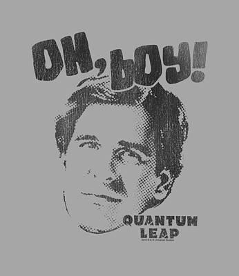 Adventure Time Digital Art - Quantum Leap - Oh Boy by Brand A