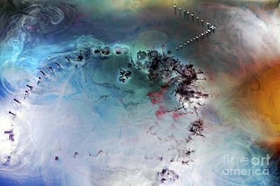 Quantum Leap Art Print by Petros Yiannakas