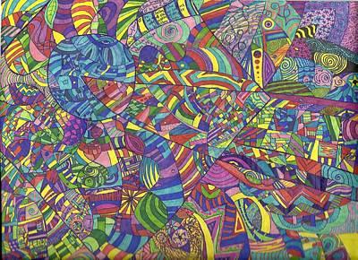 Quantum Qarma Art Print by Ty DAvila