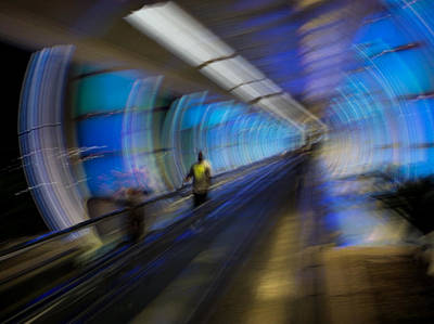 Art Print featuring the photograph Quantum Tunneling by Alex Lapidus