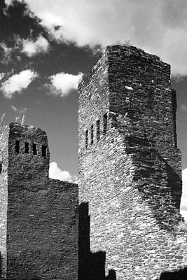Native Photograph - Quarai At Salinas Pueblos Mission Nm by Christine Till