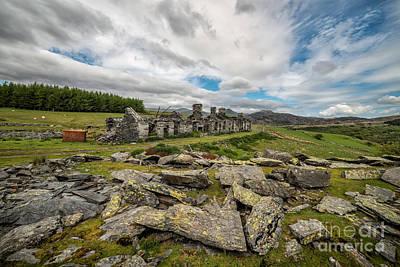 Barracks Photograph - Quarry Cottages by Adrian Evans