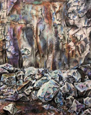 Quarry Art Print by Elizabeth Lock
