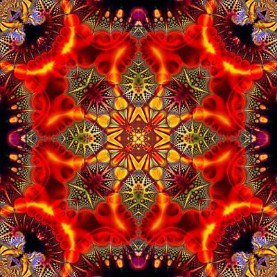 Digital Art - Quasar Kaleidoscope No 2 by Charmaine Zoe