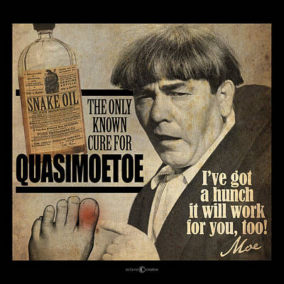 Sore Digital Art - Quasimoetoe Poster by Tim Nyberg