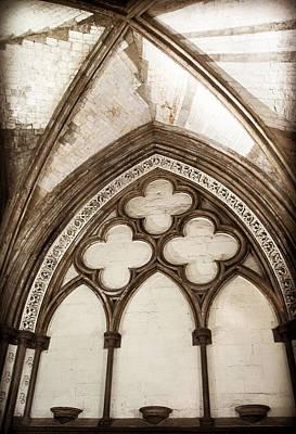 Quatrefoil Arch Art Print