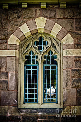 Photograph - Quatrefoil Window by Colleen Kammerer