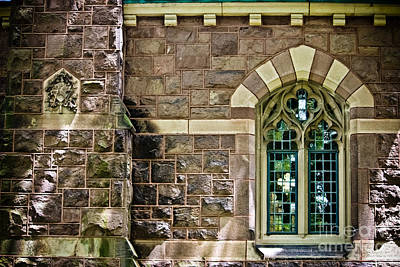 Photograph - Quatrefoil Window - Princeton University by Colleen Kammerer