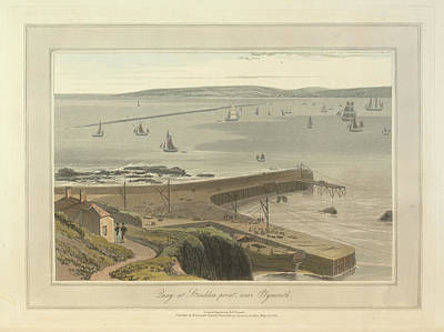 Quay At Straddon Poin Art Print by British Library