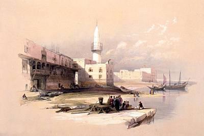 Photograph - Quay At Suez by Munir Alawi