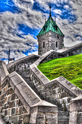 Photograph - Quebec City Fortress Gates by Bianca Nadeau