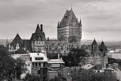 Photograph - Quebec City In Black And White by Pierre Leclerc Photography