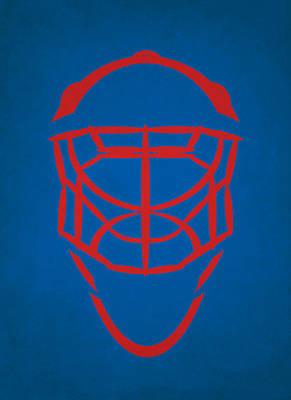 Quebec Photograph - Quebec Nordiques Goalie Mask by Joe Hamilton