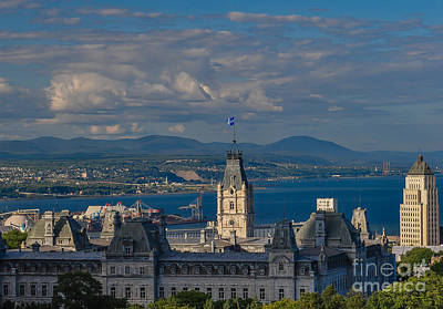 Photograph - Quebec Parliament by Bianca Nadeau