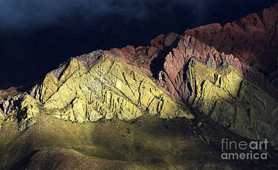Photograph - Quebrada De Humahuaca Argentina 1 by Bob Christopher