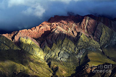 Photograph - Quebrada De Humahuaca Argentina 2 by Bob Christopher