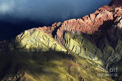 Photograph - Quebrada De Humahuaca Argentina 3 by Bob Christopher