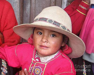 Photograph - Quechua Doll by Lew Davis