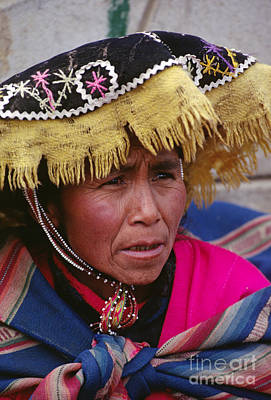 Photograph - Quechua Woman - Peruvian Andes by Craig Lovell