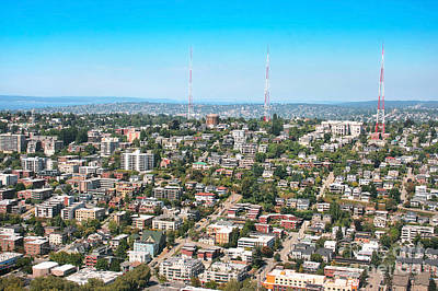 Photograph - Queen Anne Hill In Seattle by JR Photography
