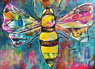 Painting - Queen Bee #2 by Kim Heil