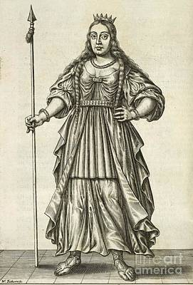 Boudicca Photograph - Queen Boudicca, British Iceni Ruler by British Library