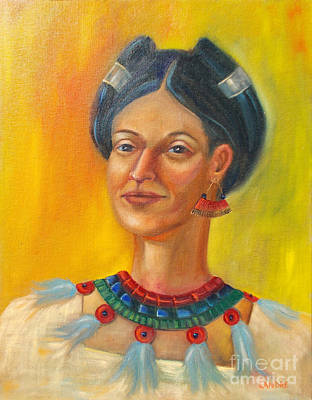 Painting - Queen Centehua by Lilibeth Andre
