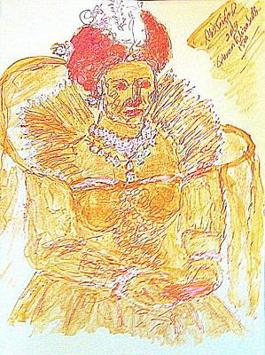 Queen Elizabeth I 1500  Original by Richard W Linford