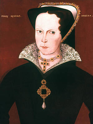 Queen Mary Painting - Queen Mary I Of England by Granger