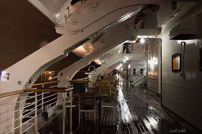 Photograph - Queen Mary Sun Deck by Heidi Smith