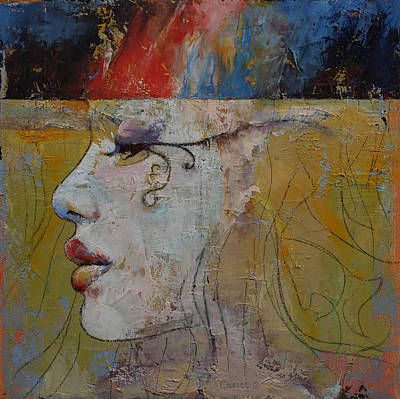 Queen Art Print by Michael Creese