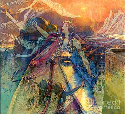 Queen Of Chronos Art Print