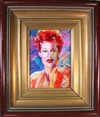 Painting - Queen Of Comedy by Les Leffingwell