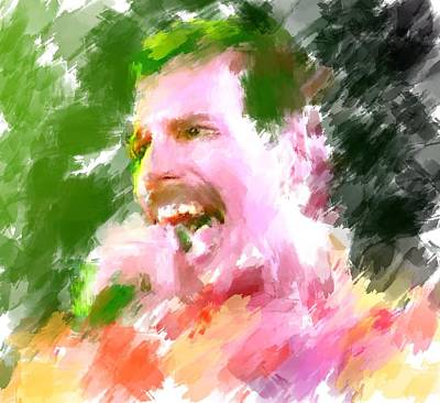 Sightseeing Digital Art - Queen Of Freddy Mercury by Yury Malkov
